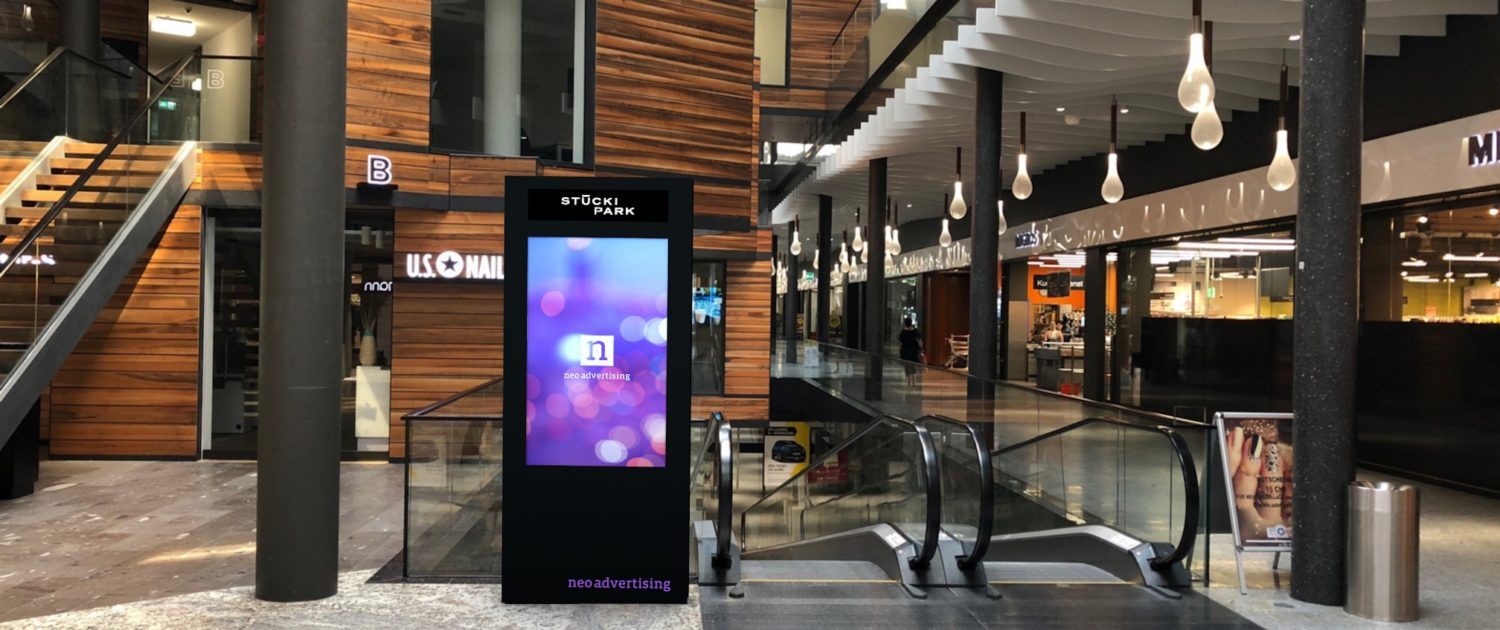 Digital Shopping Network - Stucki Park Basel - Neo Advertising